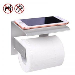 Porte Papier Toilette,Porte Rouleau Papier WC,Support Papier WC,Porte Papier Toilette Mural,Derouleur Papier WC de la marque TEPSMIGO image 0 produit