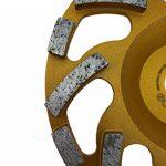 PRODIAMANT Qualité Professionnelle Disque Diamant à Meuler Béton 148 x 19 mm - diamant meule PDX82.918 Turbo 148mm pour Hilti de la marque PRODIAMANT image 2 produit