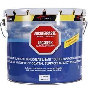 Produit d'étanchéité terrasse balcon Peinture décorative résine revêtement protection circulable extérieur ARCATERRASSE de la marque ARCANE-INDUSTRIES image 0 produit