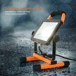 Projecteur de Chantier, lampe de travail Tacklife LWL1A, projecteur LED rotatif et portable avec support de 20W 1620LM, câble de 2 m, IP65, idéal pour une utilisation en extérieur et en intérieur de la marque TACKLIFE image 4 produit