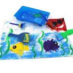 Queta Kits de Peinture pour Enfants Brosses de Peinture Éponge Brosses de Peinture Enfant avec Palette et Tablier (32Pcs) de la marque Queta image 4 produit