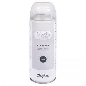 Rayher 34373000 Chalky Finish Spray Vernis Transparent Mat, pour Une Meilleure Protection de la Couleur sur Les Surfaces, Vernis Protecteur de qualité supérieure, boîte de 400 ML, Transparent de la marque Rayher-Hobby image 0 produit