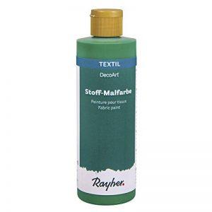 Rayher 38951424 Peinture pour Tissus, Flacon 236 ML de Peinture pour Personnaliser Vos créations réalisées sur du Tissu, Vert Poison de la marque Rayher-Hobby image 0 produit
