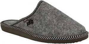 RBJ leather shoes .Chaussons pour Homme en Feutre De Laine Naturel Chauds Respirants Naturels Faits À La Main Qualité dans de la marque RBJ-leather-shoes image 0 produit