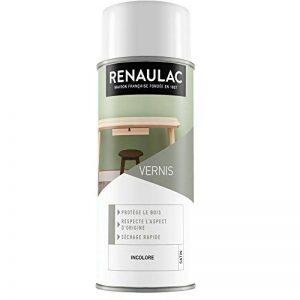 Renaulac Peinture Aérosol Déco Vernis Bois Incolore Satin - 400 ml de la marque Renaulac image 0 produit