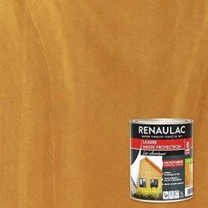 Renaulac Peinture Lasure Chêne clair - Garantie 8 ans - 1L - 12m² / pôt de la marque Renaulac image 0 produit
