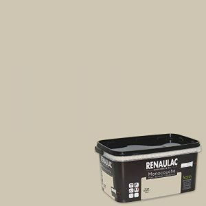 Renaulac Peinture monocouche multisupports Beige Quartz Satin 2,5L - 25m² de la marque Renaulac image 0 produit