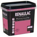 Renaulac Peinture monocouche multisupports Rose Pétunia Satin 0,75L - 8m² de la marque Renaulac image 1 produit