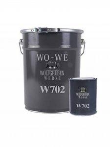 Resine epoxy peinture sol garage revêtement industriel beton Platine Gris 20Kg de la marque Wowe image 0 produit