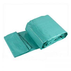 RFJJAL Bâche de Pluie Camping, Tissu de Couverture extérieure spécial Tissu en Plastique Double Face étanche, Vert, 10 m * 10 m de la marque RFJJAL Bâche image 0 produit