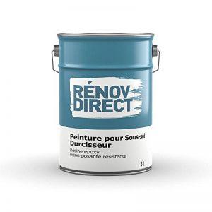Rénovdirect Rénov'sol Peinture Polyuréthane Polyvalente Résistante pour Sols Béton, 5L gris de la marque Rénovdirect image 0 produit