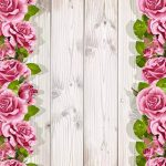 Rose Grain En Bois 3D Peinture de Plancher Stéréo Anti-Glissement Humidité Salon Papier Peint Salle De Bains Murale 200x140cm de la marque WGXCC image 3 produit