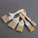 Rosenice 5pcs Pinceaux avec manche en bois pour peinture murale et meubles de la marque ROSENICE image 1 produit