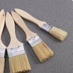 Rosenice 5pcs Pinceaux avec manche en bois pour peinture murale et meubles de la marque ROSENICE image 4 produit