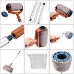 Rouleau Peinture Avec Reservoir, Rouleau De Peinture Kit D'outils Pour Peinture Mur Et Plafond- Transformer N'importe Quelle Pièce En Quelques Minutes de la marque YYMC image 1 produit