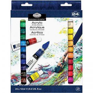 Royal & Langnickel ACR24 Assortiment de 24 Tubes de peinture acrylique 24 x 12 ml de la marque Royal-Langnickel image 0 produit