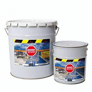 Résine peinture sol epoxy revêtement industriel béton usine atelier parking REVEPOXY TRAFIC INTENSIF de la marque ARCANE-INDUSTRIES image 0 produit
