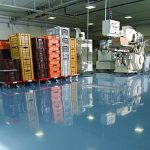 Résine peinture sol epoxy revêtement industriel béton usine atelier parking REVEPOXY TRAFIC INTENSIF de la marque ARCANE-INDUSTRIES image 1 produit