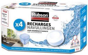 Rubson 1852170 Déshumidificateur d'air 4 Recharges Blanc de la marque Rubson image 0 produit