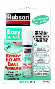 Rubson Efface rayure Rénov'éclats - Masque efficacement les éclats et rayures des meubles de salle de bain - Blanc - 1 x 12 ml de la marque Rubson image 0 produit