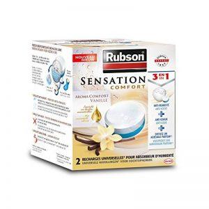 RUBSON - Recharges parfumées pour absorbeur d'humidité - Aroma Comfort - Parfum Vanille - 2 recharges de la marque Rubson image 0 produit