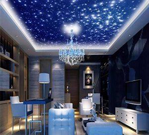Rureng Peinture Murale Papier Peint 3D Décoration De La Maison Photo Fond D'Écran Ciel Bleu Ciel Salon Plafond Peintures Murales-250X175Cm de la marque Rureng image 0 produit