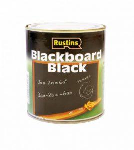 Rustins (Blackboard Paint) BLAB1000 - Peinture sur tableau - noir - séchage rapide 1 Litre de la marque Rustins image 0 produit