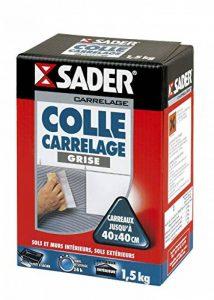 Sader Colle Carrelage Grise Poudre 1.5kg de la marque Sader image 0 produit