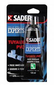 Sader Colle Tuyaux PVC Tube de Blister, Opaque,125 ml de la marque Sader image 0 produit