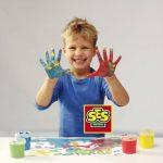 Ses - 00304 - Loisir Créatif - Peinture à Doigts Couleurs Tendances de la marque Ses image 3 produit