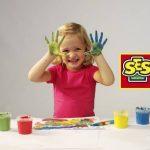 Ses - 00304 - Loisir Créatif - Peinture à Doigts Couleurs Tendances de la marque Ses image 4 produit