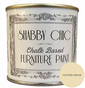 Shabby Chic Furniture Paint Peinture pour meubles, couleur crème caillée 1 l. de la marque Shabby-Chic-Furniture-Paint image 0 produit