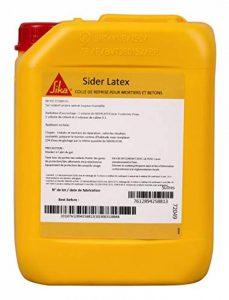 Sider Latex, Colle de reprise pour mortier et béton, 5L, Blanc de la marque Sika-Corporation image 0 produit