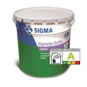 SIGMALYS SATIN BLANC 15L - Peinture garnissante acrylique satinée pochée - SIGMA de la marque Sigma image 0 produit