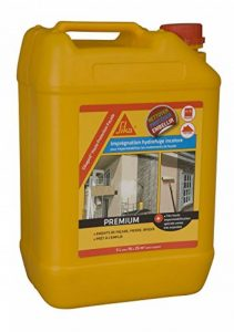 Sikagard Haute Protection Façade, Hydrofuge concentré / Imperméabilisant pour façades et toitures, 5L, Blanc de la marque SIKA image 0 produit
