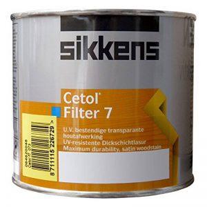 Sikkens cetol filter 7 lasure 2,5 l (996 frêne) de la marque Sikkens image 0 produit