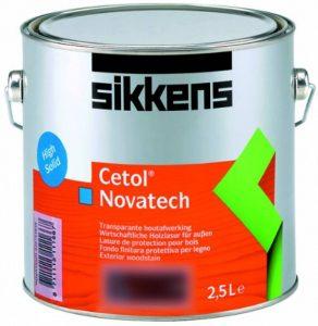 Sikkens Cetol Novatech Lasure Couche mince High Solid 5000l de la marque Sikkens image 0 produit