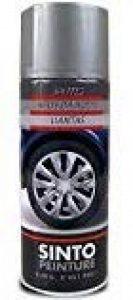 SINTO - Bombe peinture Jantes - Gris aluminium - Aérosol 400 ml de la marque SINTOPEINTURE image 0 produit