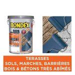 SOS Rénovation Terrasses, Bondex - Gris Ardoise Mat, 5L de la marque Bondex image 1 produit
