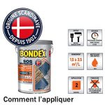SOS Rénovation Terrasses, Bondex - Gris Ardoise Mat, 5L de la marque Bondex image 2 produit
