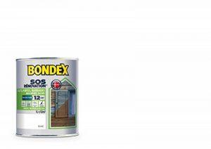 SOS Rénovation Volets, Bondex - Blanc Satin, 1L de la marque Bondex image 0 produit