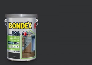 SOS Rénovation Volets, Bondex - Gris Anthracite Ral 7016 Satin, 5L de la marque Bondex image 0 produit