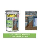 SOS Rénovation Volets, Bondex - Gris Galet Satin, 5L de la marque Bondex image 1 produit