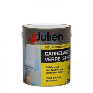 Sous-couche JULIEN pour verre, stratifié, carrelage mural - Blanc légèrement satiné 2,5L de la marque Julien image 0 produit