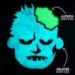 SpaceBeams Peinture Brillante dans Le Noir, Aquaris 50ml (1.7 FL oz), Aqua Brillant Couleur (Clair Bleu/Turquoise) de la marque SpaceBeams image 4 produit