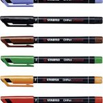 STABILO OHPen - Pochette de 8 marqueurs (encre permanente / pointe fine 0,7mm) de la marque STABILO image 3 produit