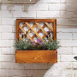 Stand de fleurs Supports d'affichage de mur de bois de supports d'usine d'affichage multi-couche support de stockage de pot de fleurs d'affichage d'affichage de pot de fleurs pour le jardin extérieur de la marque Wagyunfei image 0 produit