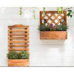 Stand de fleurs Supports d'affichage de mur de bois de supports d'usine d'affichage multi-couche support de stockage de pot de fleurs d'affichage d'affichage de pot de fleurs pour le jardin extérieur de la marque Wagyunfei image 3 produit