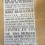 Stickers Smart House® - Sticker mural « les règles de la maison » Noir (65X40) de la marque Smart-House image 1 produit