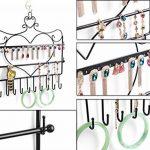 SUMERSHA Présentoir à Bijoux Porte-bijoux en Métal Forme de Coeur pour Boucle d'Oreille Bracelet collier de la marque SUMERSHA image 1 produit